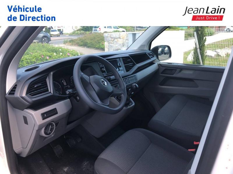 Volkswagen Transporter TRANSPORTER 6.1 FGN L1H1 2.0 TDI 90 BVM5 BUSINESS LINE 4p Blanc occasion à Annemasse - photo n°11