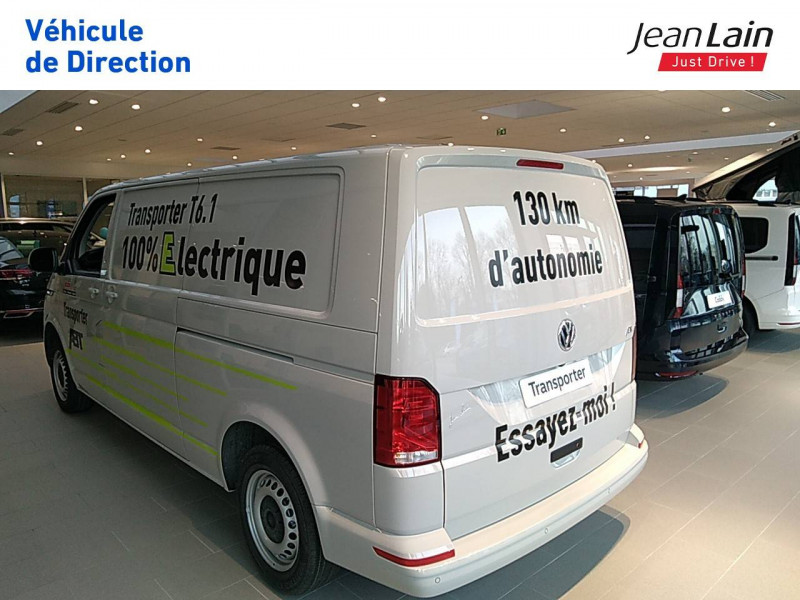 Volkswagen Transporter TRANSPORTER ELECTRIQUE 6.1 FGN L2H1 113 DSG ABTE  4p Gris occasion à Fontaine - photo n°5