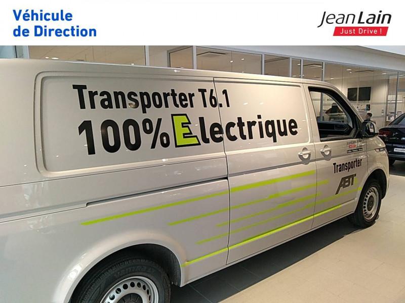 Volkswagen Transporter TRANSPORTER ELECTRIQUE 6.1 FGN L2H1 113 DSG ABTE  4p Gris occasion à Fontaine - photo n°8