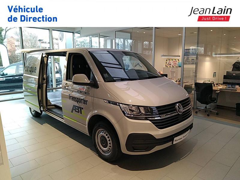 Volkswagen Transporter TRANSPORTER ELECTRIQUE 6.1 FGN L2H1 113 DSG ABTE  4p Gris occasion à Fontaine - photo n°3