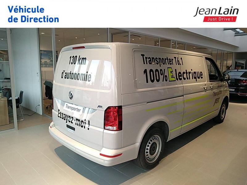 Volkswagen Transporter TRANSPORTER ELECTRIQUE 6.1 FGN L2H1 113 DSG ABTE  4p Gris occasion à Fontaine - photo n°7