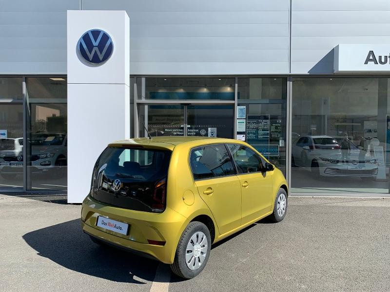 Volkswagen Up 1.0 60ch BlueMotion Technology Move up! 5p Jaune occasion à Figeac - photo n°3