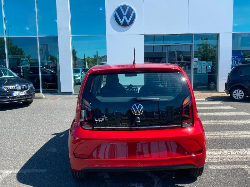 Volkswagen Up 1.0 65ch BlueMotion Technology Active 5p Rouge occasion à Onet-le-Château - photo n°5