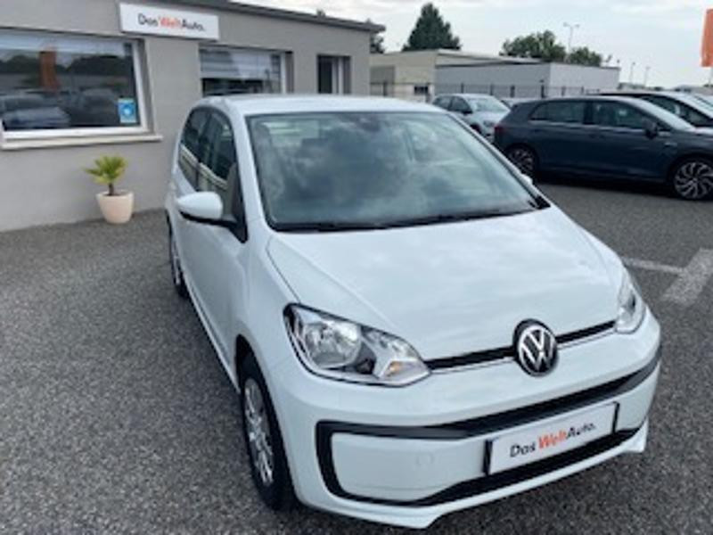 Volkswagen Up 1.0 65ch BlueMotion Technology Lounge 5p Blanc occasion à TARBES  - photo n°4
