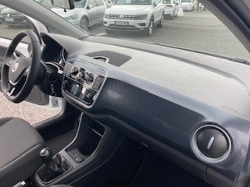 Volkswagen Up 1.0 65ch BlueMotion Technology Lounge 5p Blanc occasion à TARBES  - photo n°12