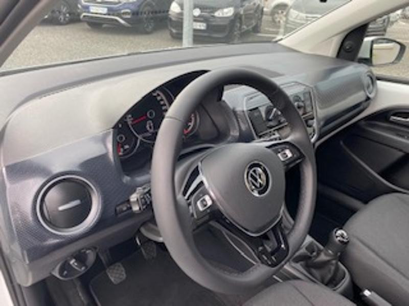 Volkswagen Up 1.0 65ch BlueMotion Technology Lounge 5p Blanc occasion à TARBES  - photo n°2
