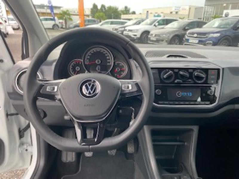 Volkswagen Up 1.0 65ch BlueMotion Technology Lounge 5p Blanc occasion à TARBES  - photo n°7