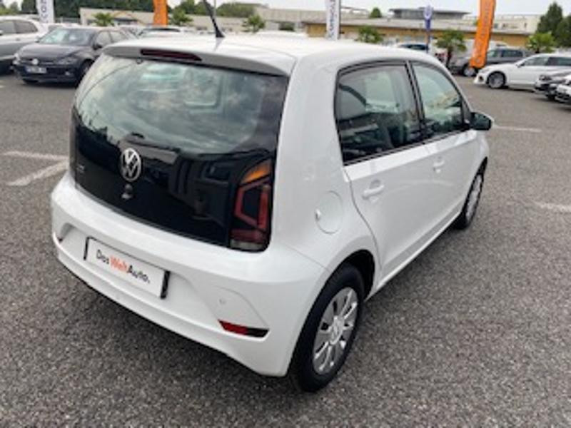 Volkswagen Up 1.0 65ch BlueMotion Technology Lounge 5p Blanc occasion à TARBES  - photo n°3