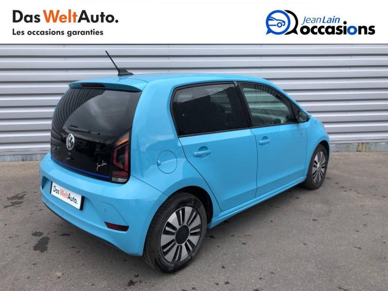 Volkswagen Up e-UP Electrique  5p Bleu occasion à Annemasse - photo n°5