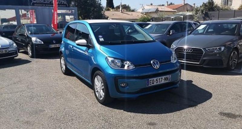 Volkswagen Up HIGH UP Bleu occasion à Les Pennes-Mirabeau - photo n°2