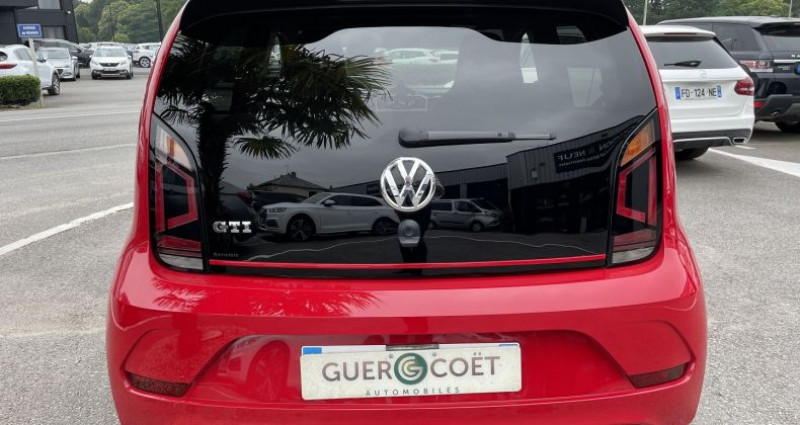 Volkswagen Up UP! 1.0 115CH BLUEMOTION TECHNOLOGY GTI 5P EURO6D-T Rouge occasion à GUER - photo n°4