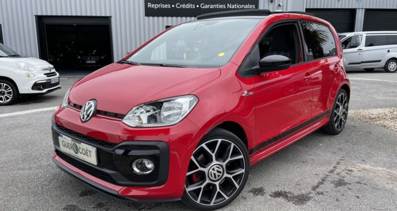 Volkswagen Up UP! 1.0 115CH BLUEMOTION TECHNOLOGY GTI 5P EURO6D-T Rouge occasion à GUER