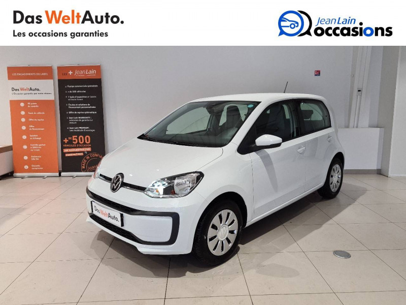 Volkswagen Up Up 1.0 60 BlueMotion Technology BVM5 Move Up! 5p Blanc occasion à Seynod