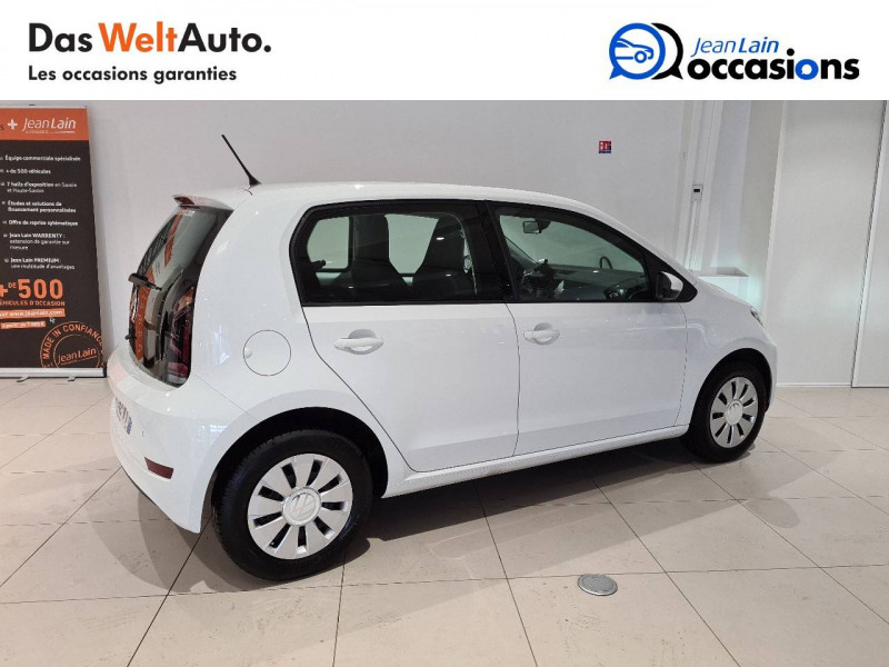 Volkswagen Up Up 1.0 60 BlueMotion Technology BVM5 Move Up! 5p Blanc occasion à Seynod - photo n°5