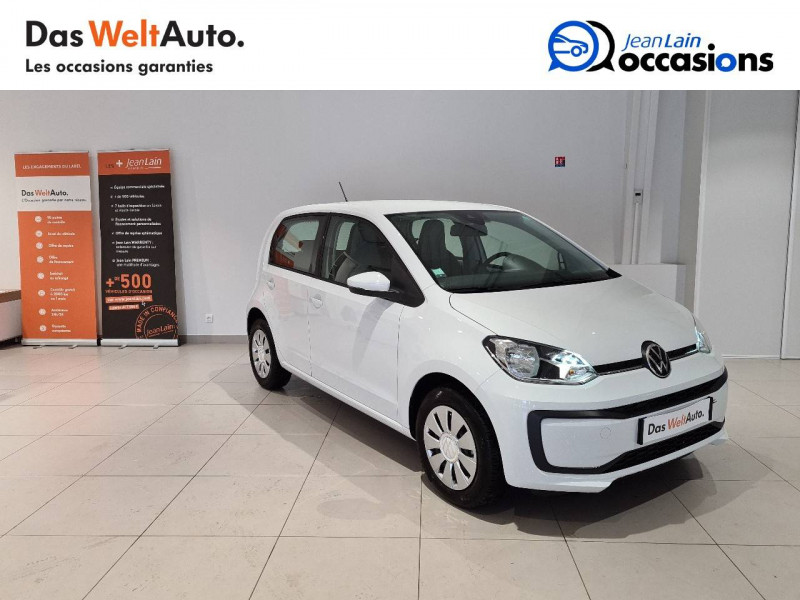 Volkswagen Up Up 1.0 60 BlueMotion Technology BVM5 Move Up! 5p Blanc occasion à Seynod - photo n°3