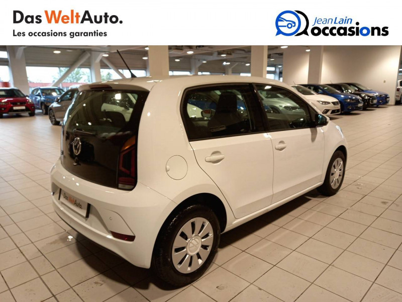 Volkswagen Up Up 1.0 60 BlueMotion Technology BVM5 Move Up! 5p Blanc occasion à Annemasse - photo n°5