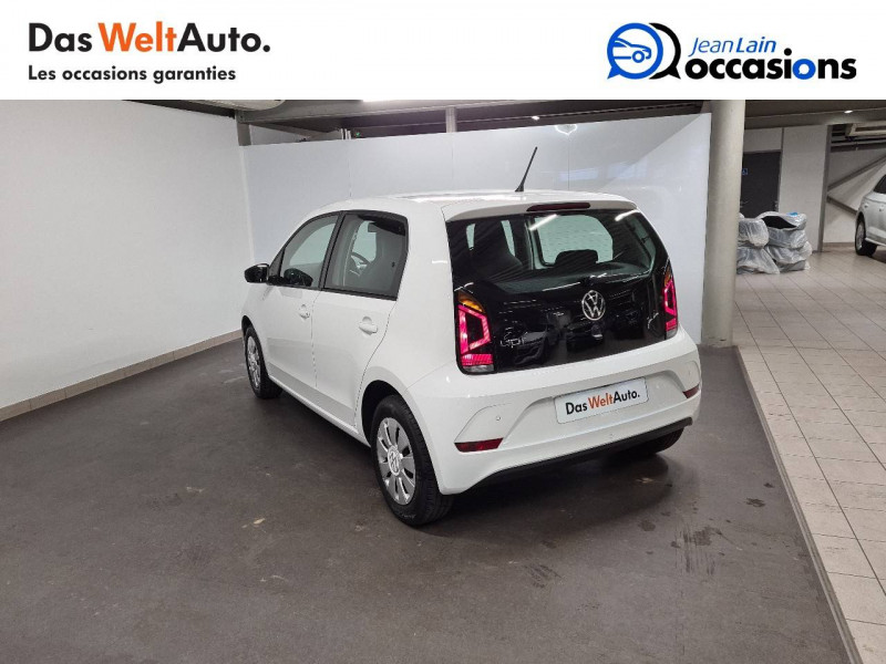 Volkswagen Up Up 1.0 60 BlueMotion Technology BVM5 Move Up! 5p Blanc occasion à La Motte-Servolex - photo n°7
