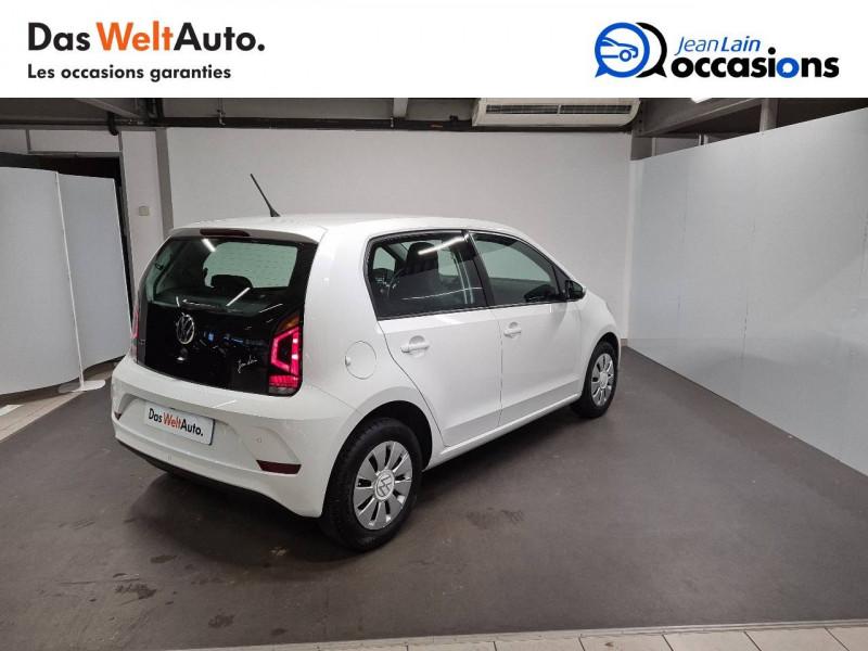 Volkswagen Up Up 1.0 60 BlueMotion Technology BVM5 Move Up! 5p Blanc occasion à La Motte-Servolex - photo n°5