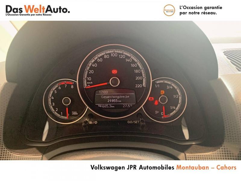 Volkswagen Up Up 1.0 60 BlueMotion Technology BVM5 Up! IQ.Drive 5p Blanc occasion à montauban - photo n°11