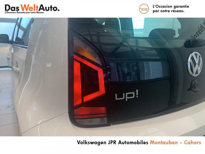 Volkswagen Up Up 1.0 60 BlueMotion Technology BVM5 Up! IQ.Drive 5p Blanc occasion à montauban - photo n°4