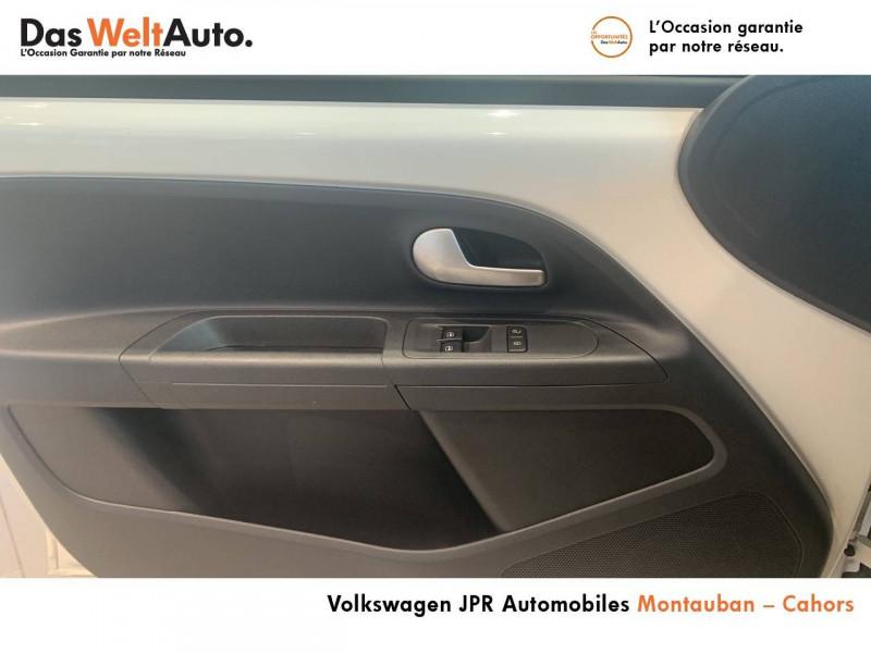 Volkswagen Up Up 1.0 60 BlueMotion Technology BVM5 Up! IQ.Drive 5p Blanc occasion à montauban - photo n°13