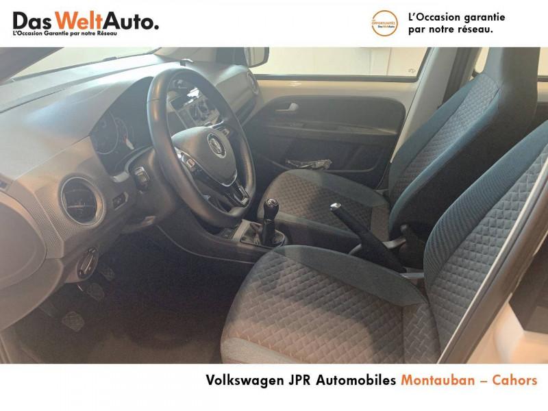 Volkswagen Up Up 1.0 60 BlueMotion Technology BVM5 Up! IQ.Drive 5p Blanc occasion à montauban - photo n°17