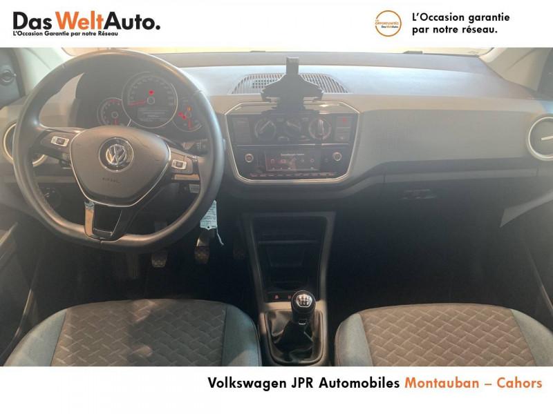 Volkswagen Up Up 1.0 60 BlueMotion Technology BVM5 Up! IQ.Drive 5p Blanc occasion à montauban - photo n°9