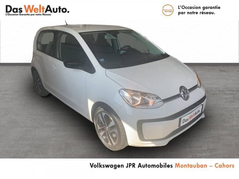 Volkswagen Up Up 1.0 60 BlueMotion Technology BVM5 Up! IQ.Drive 5p Blanc occasion à montauban - photo n°6