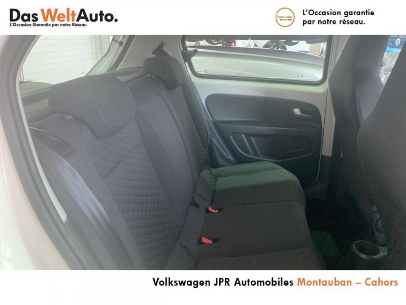 Volkswagen Up Up 1.0 60 BlueMotion Technology BVM5 Up! IQ.Drive 5p Blanc occasion à montauban - photo n°14