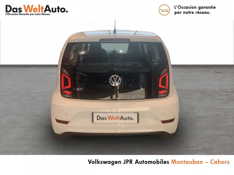Volkswagen Up Up 1.0 60 BlueMotion Technology BVM5 Up! IQ.Drive 5p Blanc occasion à montauban - photo n°5
