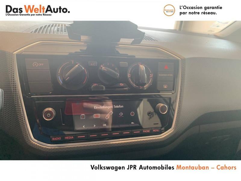 Volkswagen Up Up 1.0 60 BlueMotion Technology BVM5 Up! IQ.Drive 5p Blanc occasion à montauban - photo n°8