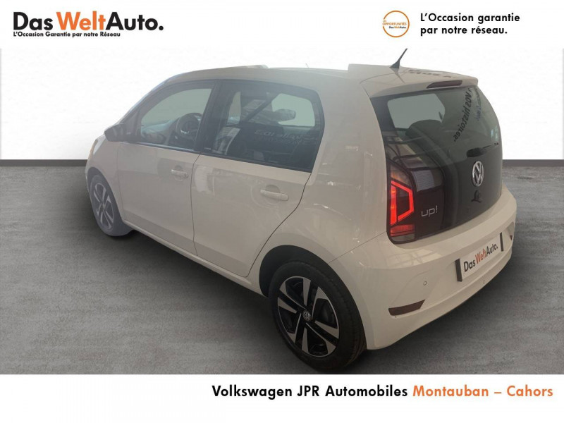 Volkswagen Up Up 1.0 60 BlueMotion Technology BVM5 Up! IQ.Drive 5p Blanc occasion à montauban - photo n°7