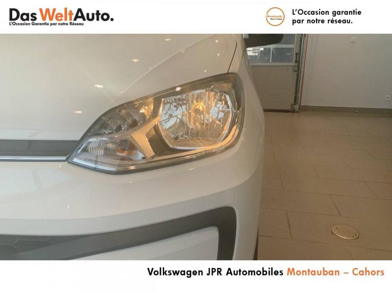 Volkswagen Up Up 1.0 60 BlueMotion Technology BVM5 Up! IQ.Drive 5p Blanc occasion à montauban - photo n°3