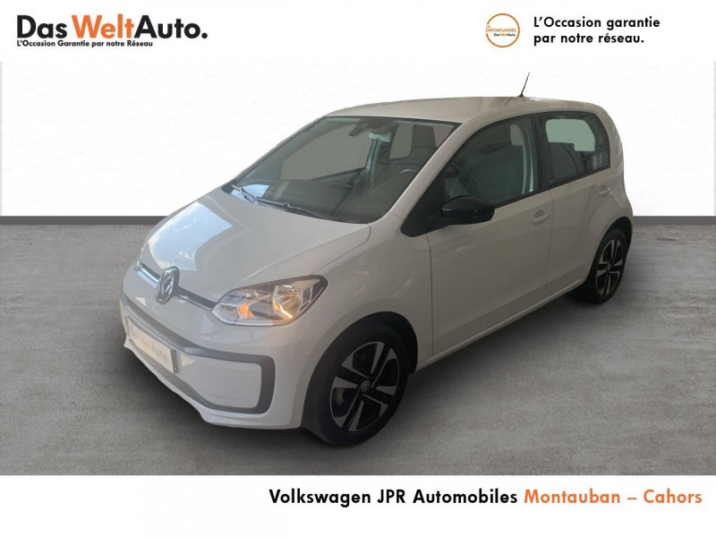 Volkswagen Up Up 1.0 60 BlueMotion Technology BVM5 Up! IQ.Drive 5p Blanc occasion à montauban