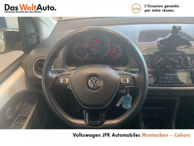Volkswagen Up Up 1.0 60 BlueMotion Technology BVM5 Up! IQ.Drive 5p Blanc occasion à montauban - photo n°20