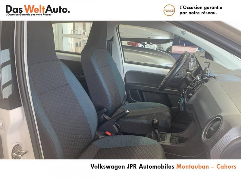 Volkswagen Up Up 1.0 60 BlueMotion Technology BVM5 Up! IQ.Drive 5p Blanc occasion à montauban - photo n°12