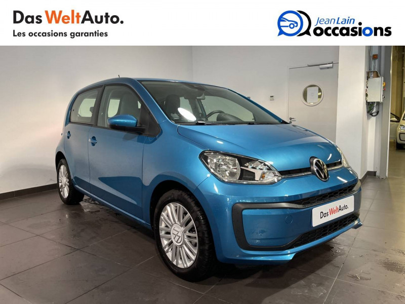 Volkswagen Up Up 1.0 60 Move Up! 5p Bleu occasion à Seynod - photo n°3