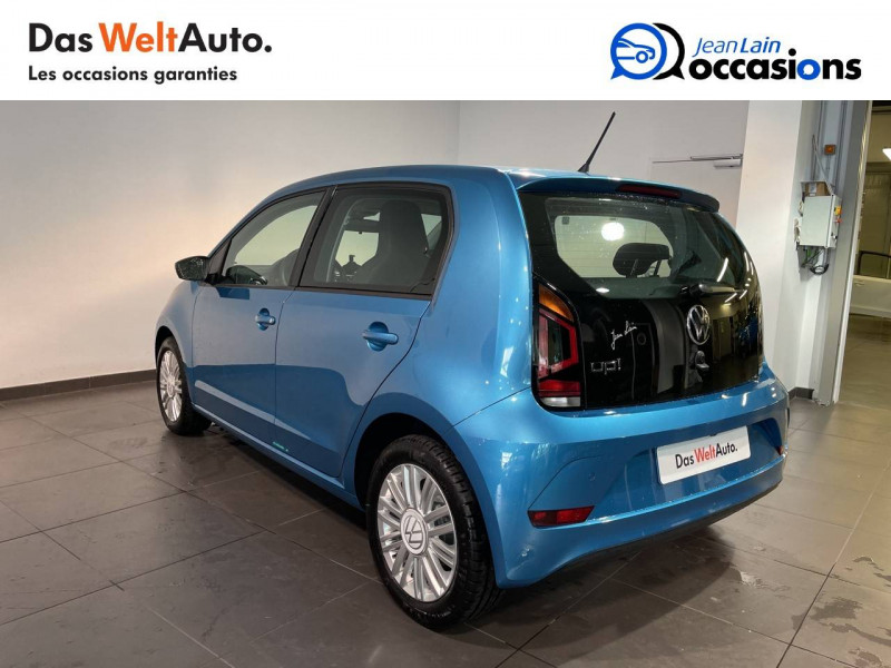 Volkswagen Up Up 1.0 60 Move Up! 5p Bleu occasion à Seynod - photo n°7