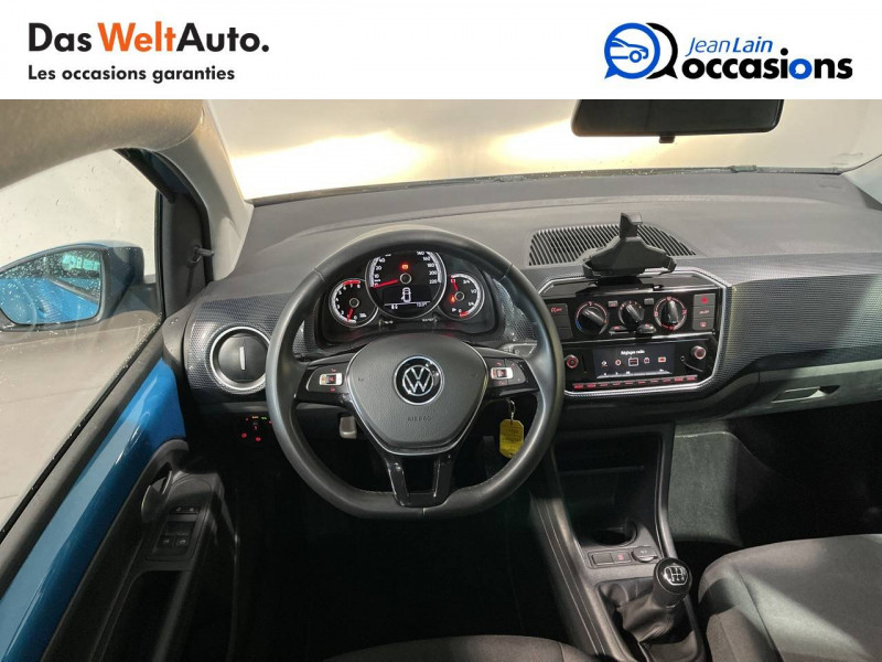 Volkswagen Up Up 1.0 60 Move Up! 5p Bleu occasion à Seynod - photo n°11