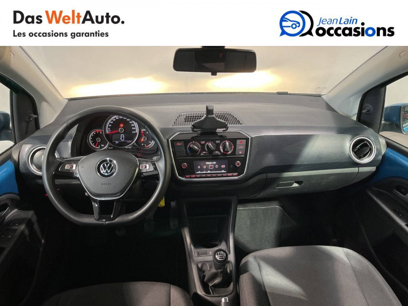 Volkswagen Up Up 1.0 60 Move Up! 5p Bleu occasion à Seynod - photo n°18