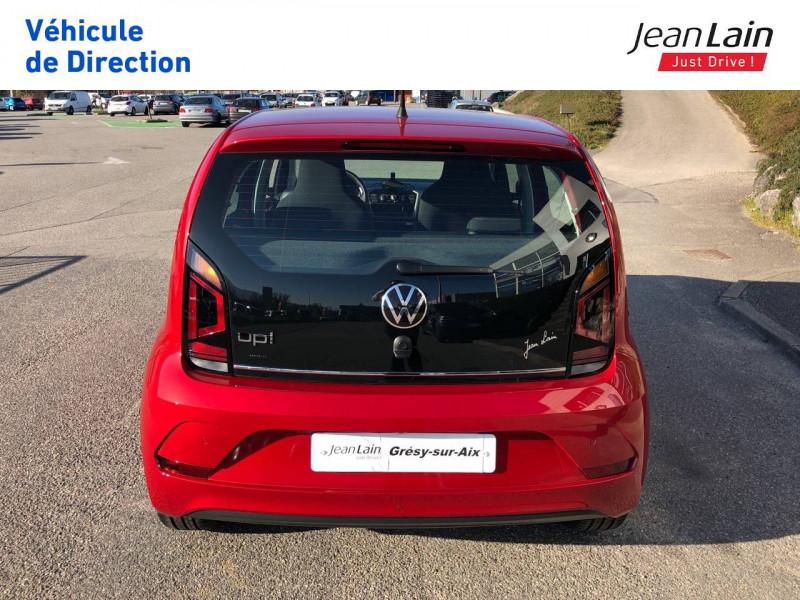 Volkswagen Up Up 1.0 65 BlueMotion Technology BVM5 Active 5p Rouge occasion à Grésy-sur-Aix - photo n°6