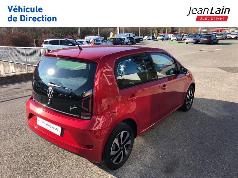 Volkswagen Up Up 1.0 65 BlueMotion Technology BVM5 Active 5p Rouge occasion à Grésy-sur-Aix - photo n°5