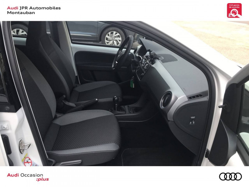 Volkswagen Up Up 1.0 65 BlueMotion Technology BVM5 Beats Audio 5p Blanc occasion à Cahors - photo n°6