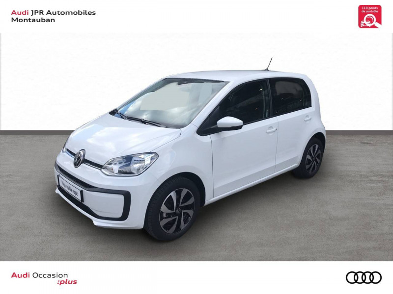 Volkswagen Up Up 1.0 65 BlueMotion Technology BVM5 Beats Audio 5p Blanc occasion à Cahors