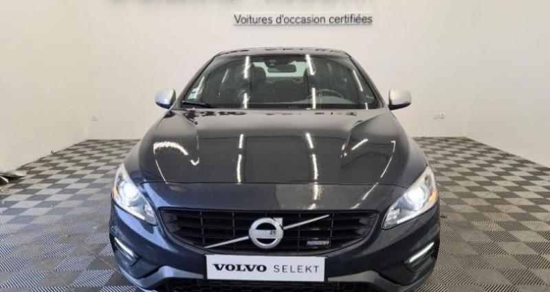 Volvo S60 D4 181ch Start&Stop R-Design Gris occasion à TOURLAVILLE - photo n°2