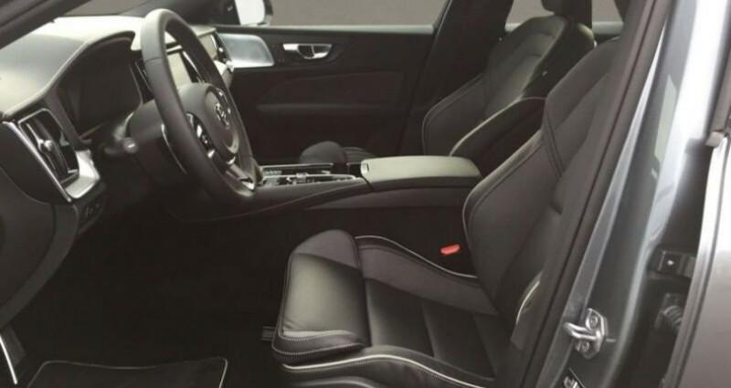 Volvo S60 T8 R-DESIGN Gris occasion à Montvrain - photo n°6