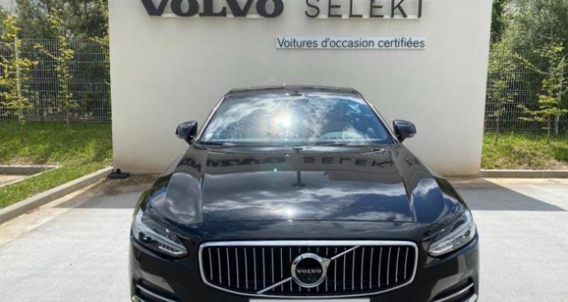 Volvo S90 D4 190ch Inscription Geartronic Noir occasion à Nogent-le-phaye - photo n°3