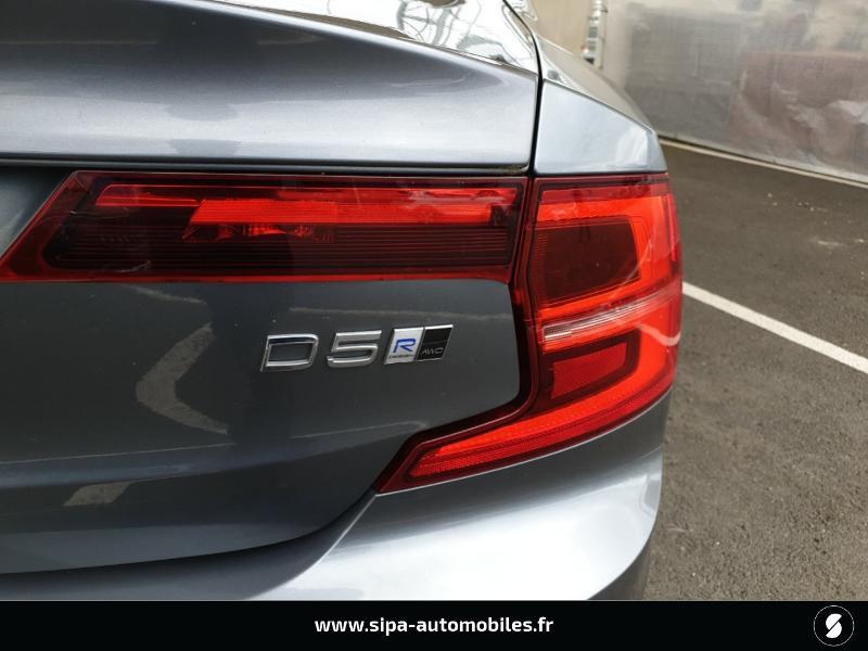Volvo S90 D5 AWD 235ch R-Design Geartronic Gris occasion à Mérignac - photo n°13
