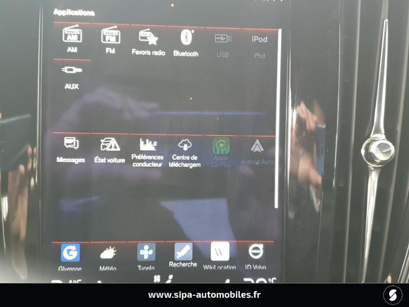Volvo S90 D5 AWD 235ch R-Design Geartronic Gris occasion à Mérignac - photo n°17