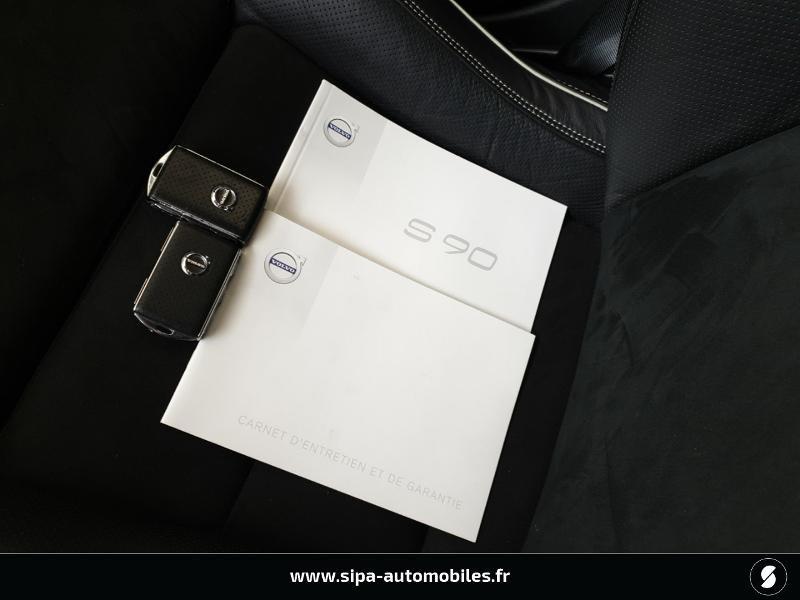 Volvo S90 D5 AWD 235ch R-Design Geartronic Gris occasion à Mérignac - photo n°9